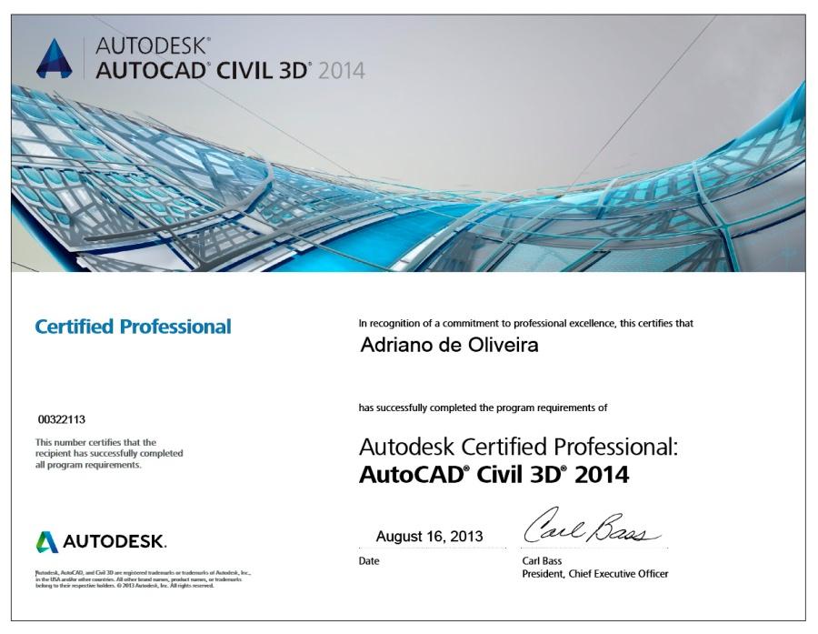 2014 - Adriano AutoCAD Civil 3D