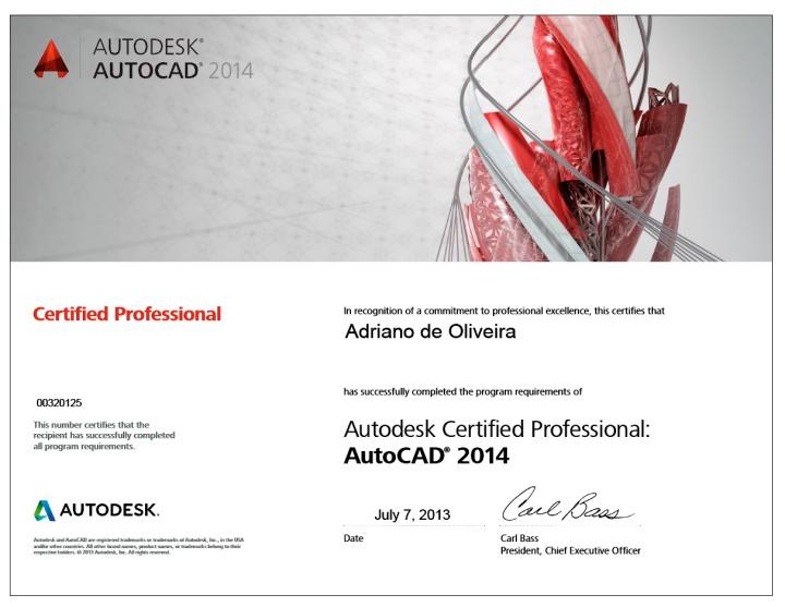 2014 - Adriano AutoCAD